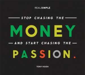 Logo Money and Passion